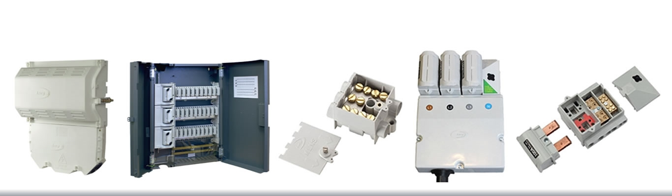 The complete Lucy Electric range of LV power distribution products